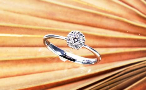 Anello Solitario diamante 27  € 451,00