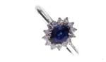 Anello Zaffiro diamanti   €  780,00