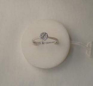 Anello Solitario diamanti n  2  €  842,00