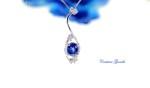 Collana Zaffiro Blu € 510,00