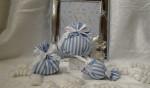Cotone righe azzurro
