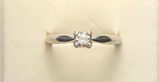 Anello Solitario diamante 19    € 910,00